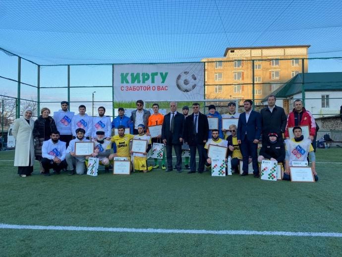 Минтруд Дагестана организовал товарищеский футбольный матч, приуроченный к Международному дню слепых   Новости  