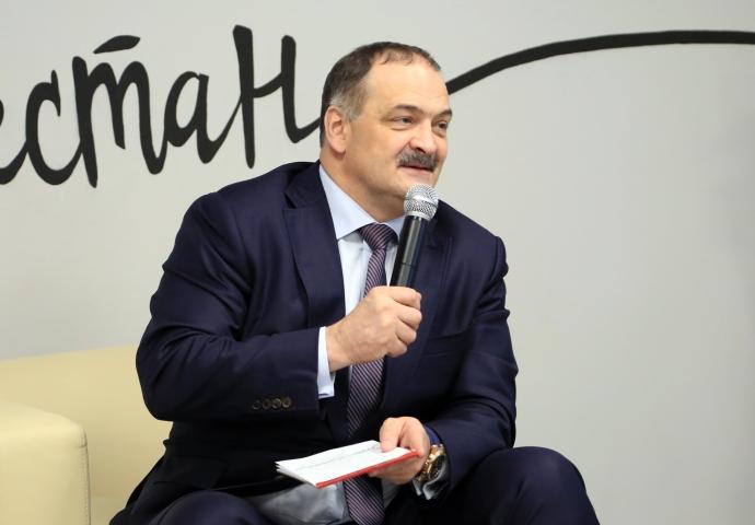 Врио Главы РД Сергей Меликов встретился с представителями молодежных общественных организаций   Новости  