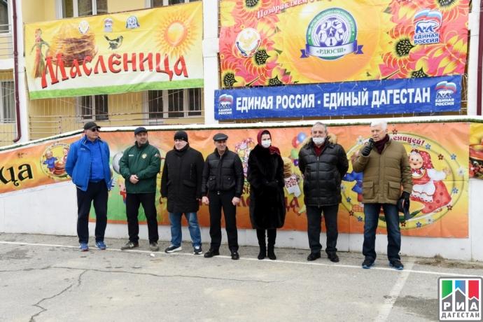 Хизри Шихсаидов принял участие в проводах Масленицы | Новости |