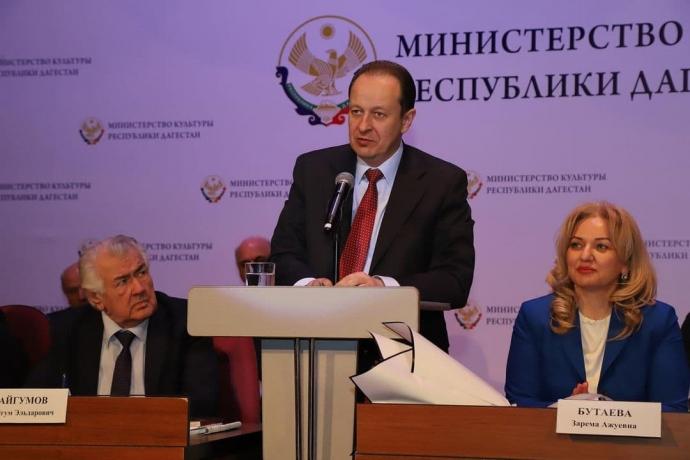 Министерство культуры Дагестана провело итоговую коллегию ведомства | Новости |