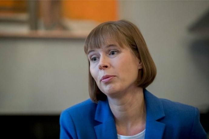 Президент Эстонии призвала принять Россию «такой, какая она есть»   Новости  