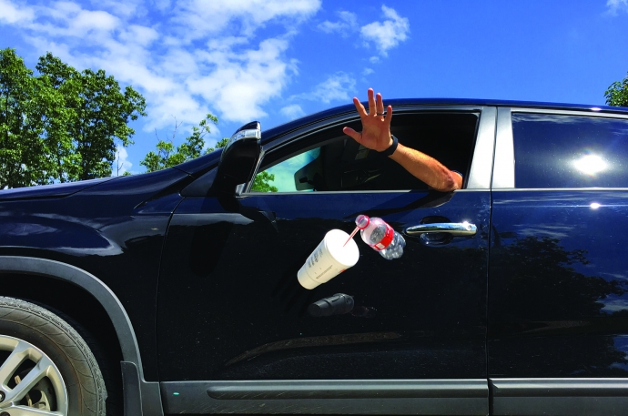 Путин поддержал новую систему наказания мусорящих водителей   Новости  