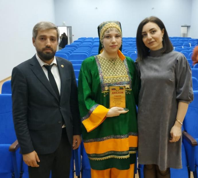 Студентка ДГУ выступит на всероссийском этапе конкурса «Дельфийские игры — 2021» | Новости |