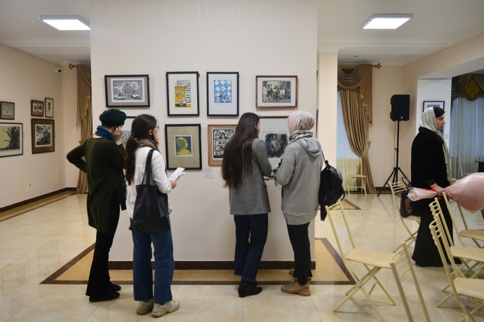 В Махачкале подвели итоги II Международной биеннале печатной графики | Новости |