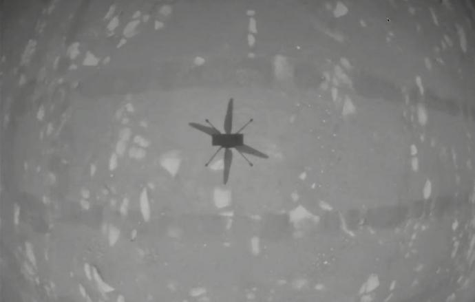 В NASA сообщили о проведении вторых успешных испытаний вертолета на Марсе   Новости  