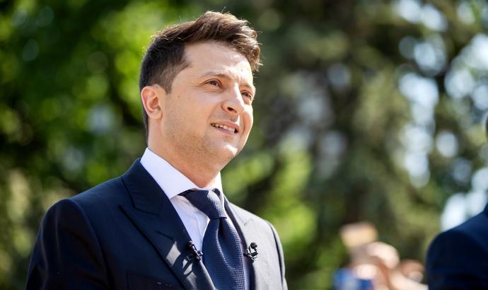 Зеленский выступил за перемирие в Донбассе | Новости |