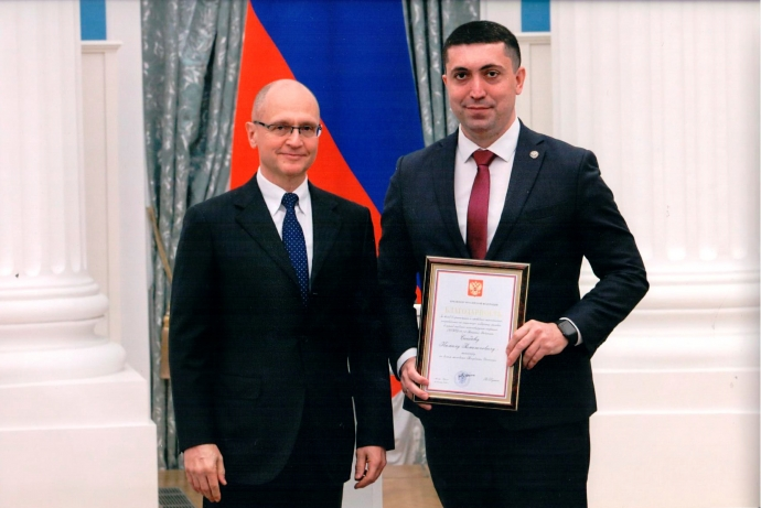 Камил Саидов награждён благодарностью Президента РФ за оказание социальной поддержки гражданам в период Covid-19   Новости  