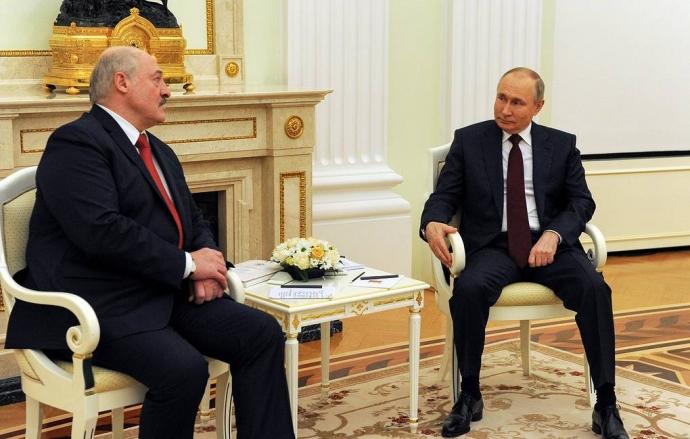 Лукашенко и Путин договорились встретиться в ближайшее время   Новости  
