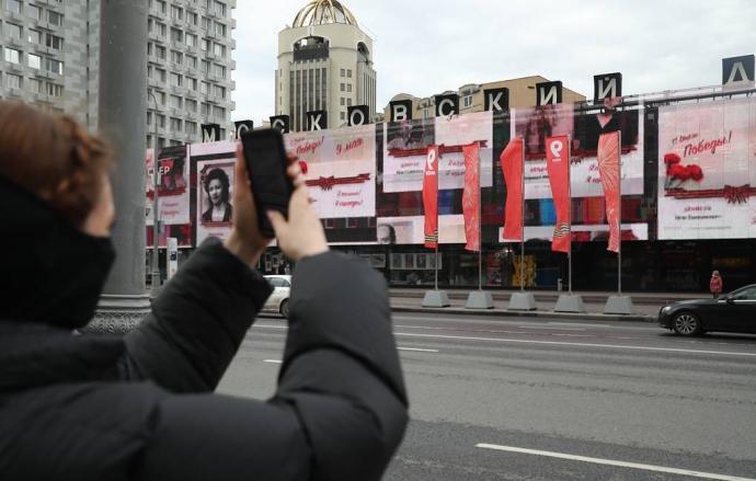 Организаторы «Бессмертного полка» пресекли размещение портретов нацистов в шествии   Новости  