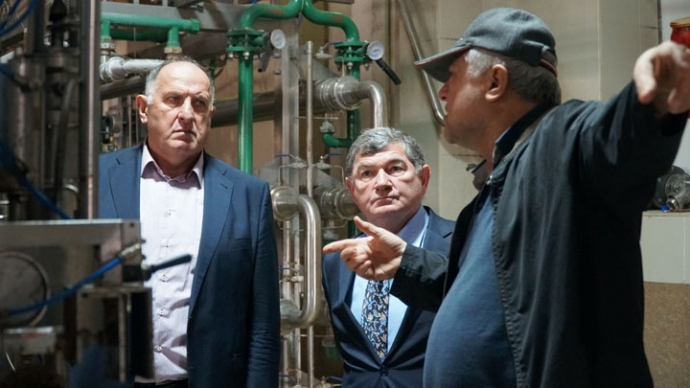 Правительство Дагестана разработает меры финансового оздоровления Кикунинского консервного завода | Новости |