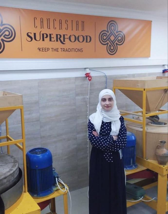 Студентка из Махачкалы стала призером международного конкурса «Мой первый бизнес» с проектом по производству ореховых паст   Новости  