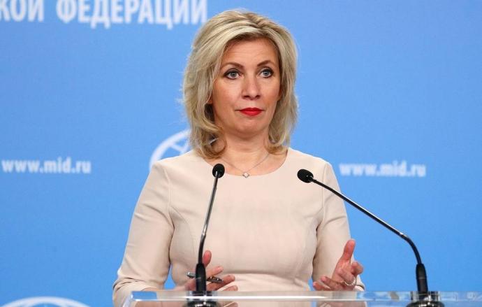 Захарова заявила, что Россия никому не угрожала санкциями   Новости  